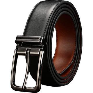 ①革ベルト ビジネス カジュアル サイズ調整可能 115cm