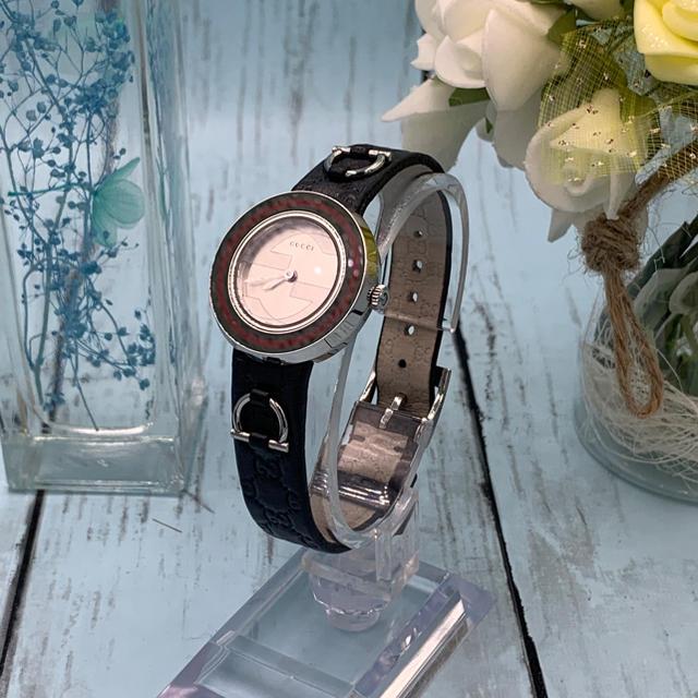 時計 名古屋 スーパー コピー / Gucci - Gucci YA129506 Uプレイ シェリー ウェンビングライン レディースの通販