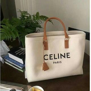 celine - Celine セリーヌ トートバッグ ロゴプリント ハンドバッグ
