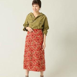 IENA - ☆新品☆IENA LA BOUCLE フラワーオーガンジースカート