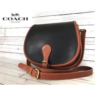 COACH - 【希少・入手困難】OLD COACH コーチ ショルダーバッグ 黒 茶
