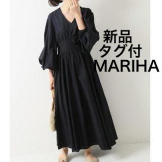 IENA - MARIHA ☆新品タグ付☆ 19SS 少女のドレス アンティークオリーブ