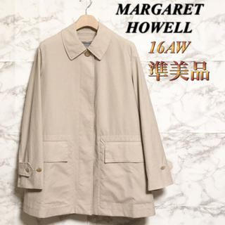 マーガレットハウエル(MARGARET HOWELL)の【16AW】【準美品】Margaret Howell ProoeedCotton(スプリングコート)