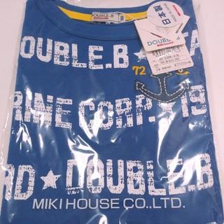 ダブルビー(DOUBLE.B)の新品【ダブルB】カッコいいTシャツ☆100(Tシャツ/カットソー)
