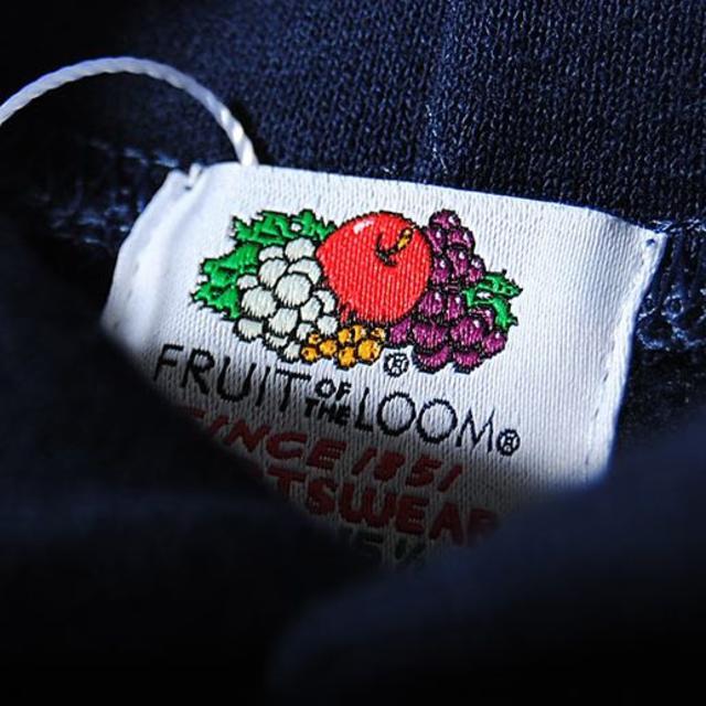Ron Herman(ロンハーマン)のfruit of the loom ロゴワッペン ネイビーL ビッグパーカー メンズのトップス(パーカー)の商品写真