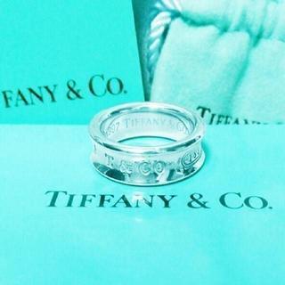 Tiffany & Co. - ☆新品☆未使用☆ティファニー 1837ロゴリング 13号