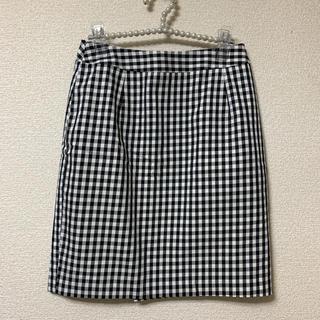 ナチュラルビューティーベーシック(NATURAL BEAUTY BASIC)のナチュラルビューティーベーシック♡ギンガムチェック スカート(ひざ丈スカート)