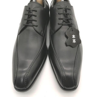 マドラス(madras)のmadras マドラス via 革靴 ビジネスシューズ 黒 冠婚葬祭 ブラック(ドレス/ビジネス)