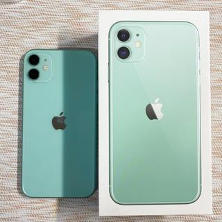 Apple - iPhone11 64GB グリーン SIMフリー