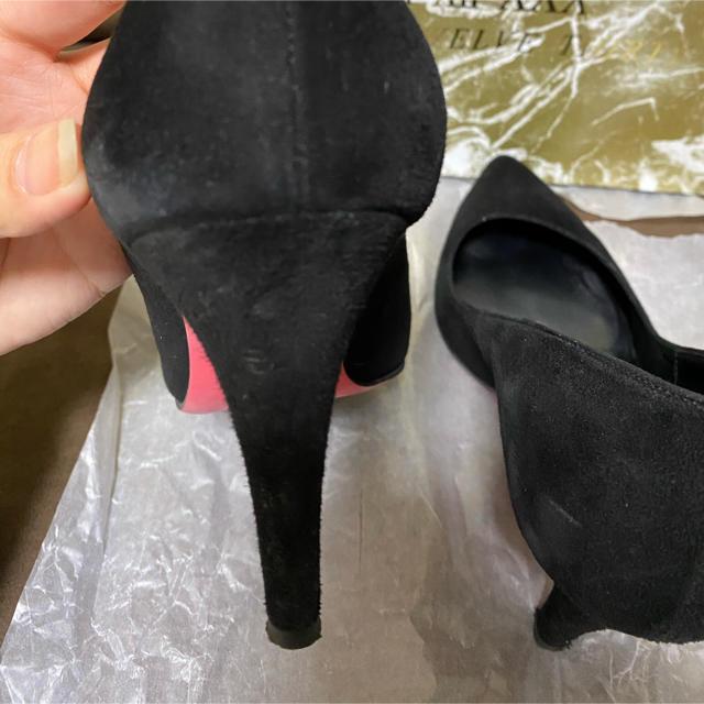 VII XII XXX(セヴントゥエルヴサーティ)のセブントゥエルブサーティー 22.5cm 黒 ハイヒール パンプス レディースの靴/シューズ(ハイヒール/パンプス)の商品写真