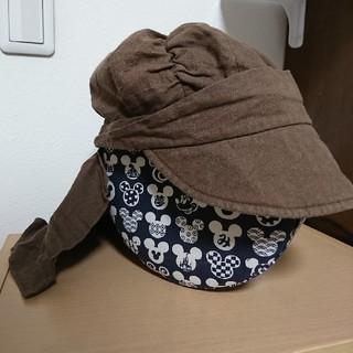 FELISSIMO - 夏用 帽子 ブラウン フェリシモ