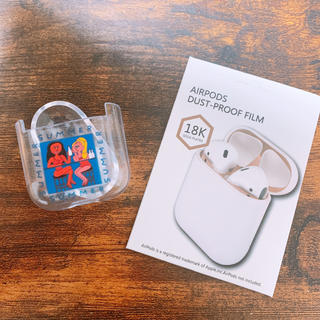 Apple - AirPods AirPods2 エアーポッズ クリアデザインケース