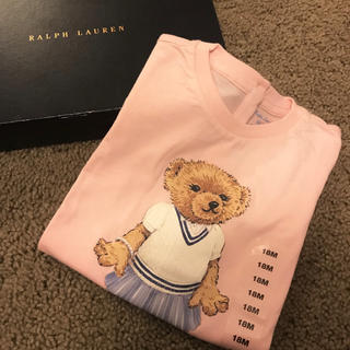 POLO RALPH LAUREN - 新品未使用 Ralph Lauren ポロベア 18M Tシャツ