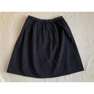 ナチュラルビューティーベーシック(NATURAL BEAUTY BASIC)のナチュラルビューティーベーシック タフタタックギャザースカート(ひざ丈スカート)