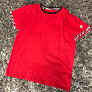 MONCLER - モンクレール 正規品 Tシャツ 美品 赤 レッド