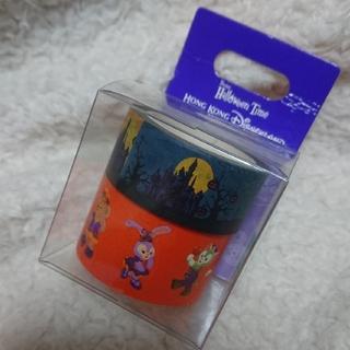 ダッフィー - 中古 マスキングテープ シール 香港 海外 ディズニー
