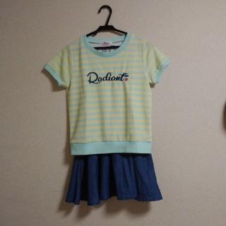 イングファースト(INGNI First)のイングファースト Tシャツとスカートセット(Tシャツ/カットソー)