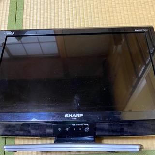 アクオス(AQUOS)のAQUOS テレビ19V型 まなな様専用(テレビ)