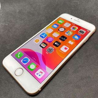 iPhone - ジャンク 美品 iPhone8 64GB ゴールド