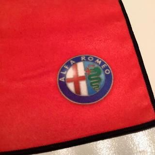 アルファロメオ(Alfa Romeo)のアルファロメオ メガネ拭き alfaromeo 新品未使用未開封(その他)
