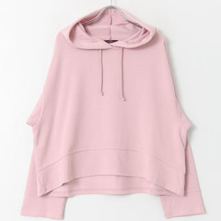 URBAN RESEARCH - スウェットビッグパーカー ピンク ITEMS URBANRESEARCH