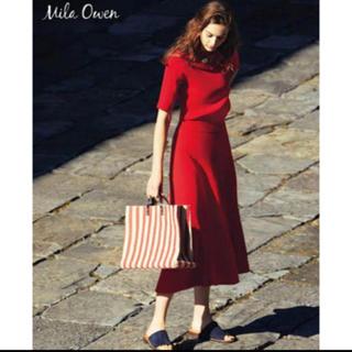 Mila Owen - ミラオーウェン リブニット セットアップ