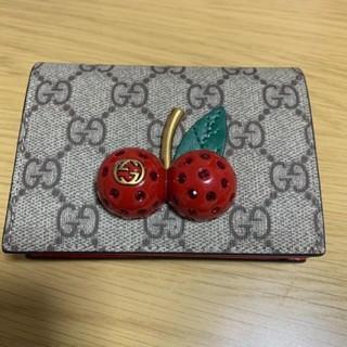Gucci - GUCCI さくらんぼ チェリーミニ財布♡