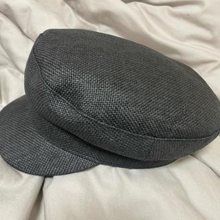 AZUL by moussy - AZUL キャスケット帽子 ブラック