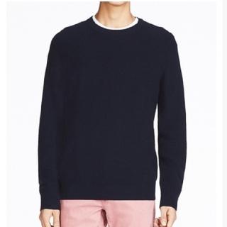 UNIQLO - 新品未使用品⭐ コットンカシミヤセーター ネイビー Mサイズ