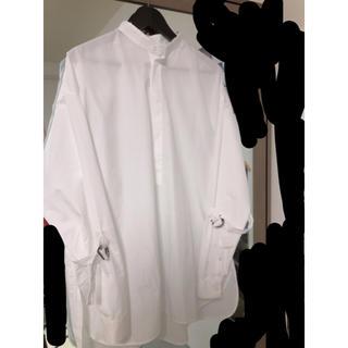 Jil Sander - jilsander 18ss マンダリンカラーシャツ