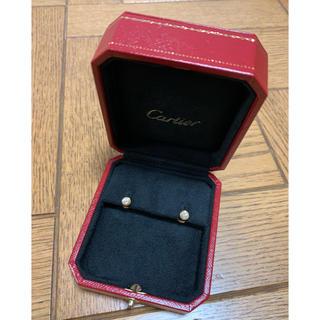 カルティエ(Cartier)のカルティエ ディアマン レジェ イヤリング ピアス 正規品(ピアス)