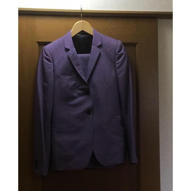 JOHN LAWRENCE SULLIVAN(ジョンローレンスサリバン)のジョンローレンスサリバン セットアップ 3ピース パープル littlebig メンズのスーツ(セットアップ)の商品写真