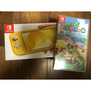 Nintendo Switch - 任天堂 Switch lite どうぶつの森セット