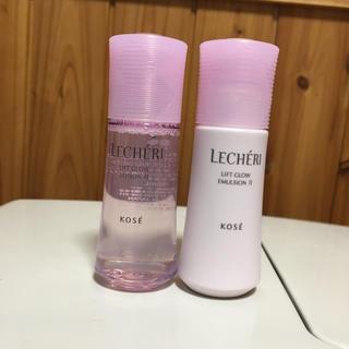 KOSE - ルシェリ 化粧水 乳液 35ml
