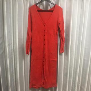 レイビームス(Ray BEAMS)のワンピース カーディガン ray BEAMS 美品 春服(カーディガン)