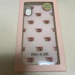 PAUL & JOE - 新品!ポールアンドジョー iPhone XS / X ケース 可愛い 猫