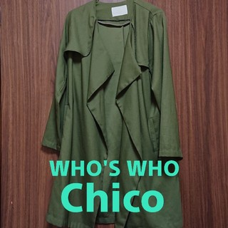 who's who Chico - WHO'S WHO CHICO フーズフーチコ トレンチコート