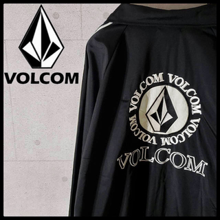 ボルコム(volcom)のボルコム VOLCOM 初期タグ デカロゴ ナイロンジャケット  オーバーサイズ(ジャージ)