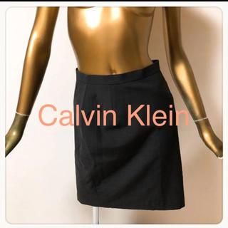 カルバンクライン(Calvin Klein)の☘T3083☘Calvin Klein シンプル スカート 4(ひざ丈スカート)