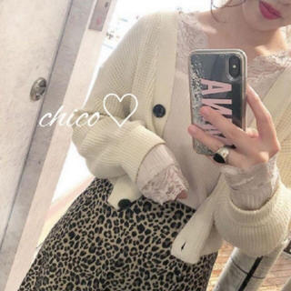 who's who Chico - 新品♡カップ付きレースロンT♡