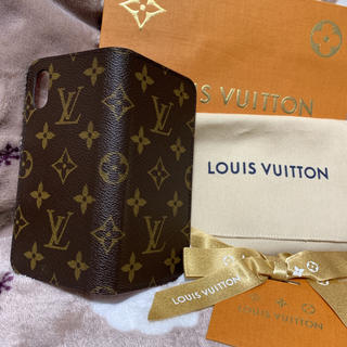 LOUIS VUITTON - 【比較的美品✨】ルイヴィトン iPhone X XS ケース フォリオ