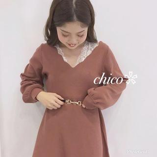 who's who Chico - 新品レア♥スカラップワンピース
