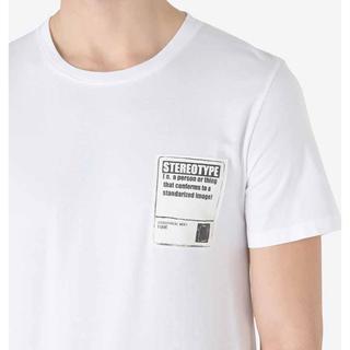 マルタンマルジェラ(Maison Martin Margiela)のマルジェラ ステレオタイプ Tシャツ 白(Tシャツ(半袖/袖なし))