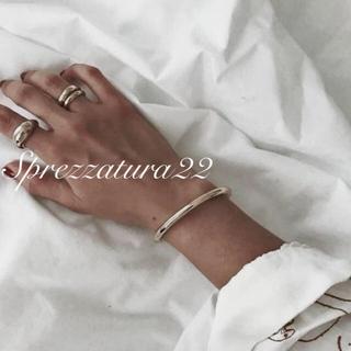 トゥデイフル(TODAYFUL)のシルバーボリュームリング ◆素材silver 925(リング(指輪))