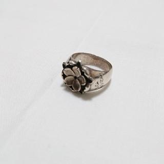 かすう工房 桜花 仇桜指輪  シルバーリング  21号サイズ(リング(指輪))
