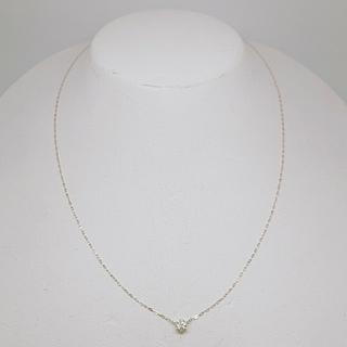 4℃ - 4℃ K18 ダイヤ ネックレス