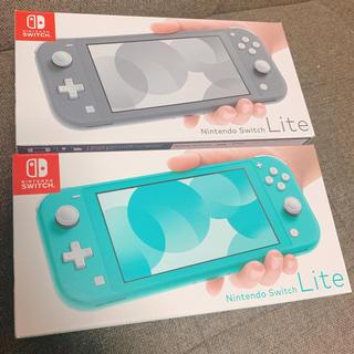 Nintendo Switch - 【新品・未使用】最安値!!ニンテンドースイッチ ライト2台セット★