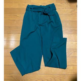 ZARA - ベルト付き パンツ
