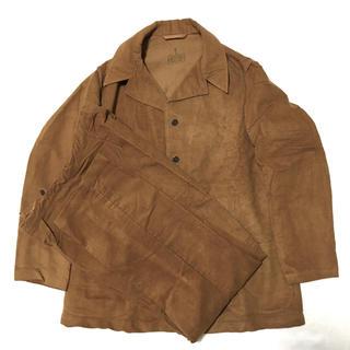 マルタンマルジェラ(Maison Martin Margiela)の60s イタリア軍 ホスピタル セットアップ ジャケット パンツ パジャマ(カバーオール)