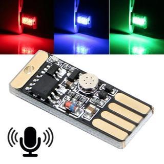 タッチ&サウンドコントロール RGBマルチカラーUSB LED (PCB)(その他)